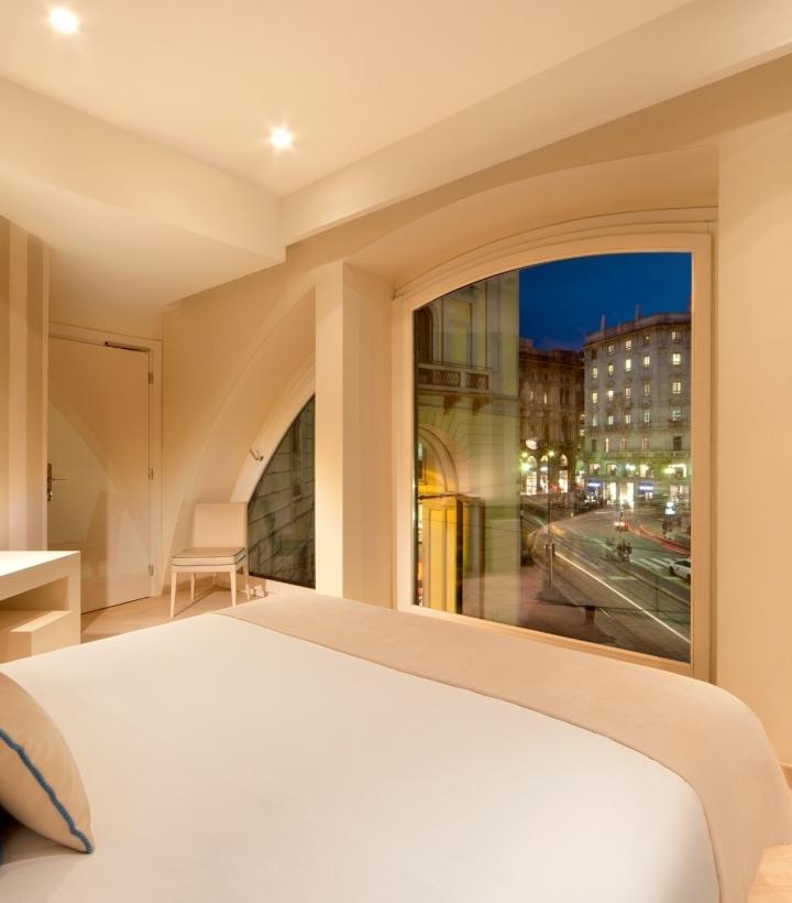 Camera con vista su Via Torino - Rooms Milano Duomo